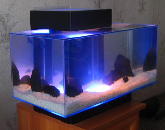 Светодиодные освещение в аквариуме своими руками