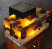 Дизайнерский 3D аквариум