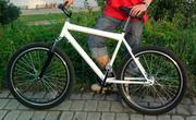 Велосипед горный,  одна скорость,  ножной тормоз