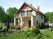 Проекты коттеджей и жилых домов
