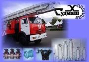 автоподъемник пожарный 30м, судовое оборудование,  арматура, гидроцилиндр