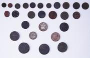 27 монет старой России 1817-1906гг