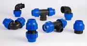 Трубы ПЭ(80, 100) и фитинги для наружного водоснабжения Херсон