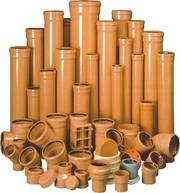 Трубы ПВХ и фитинги для наружной канализации Херсон