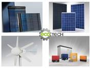 Ветрогенераторы, солнечные батареи, солнечные коллекторы для дачи и домa