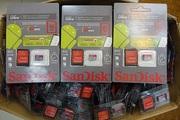 Карты памяти micro sd 8, 16, 32, 64GB 10 Class SanDisk