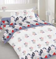 Купить постельное белье,  Комплект Евро «Хризантемы»