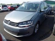 Volkswagen Sharen запчастини капот бампер запчасти бу Sharan