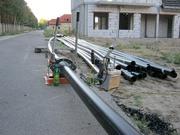 Монтаж строительство трубопроводов Херсон Прокладка полиэтиленовых тру