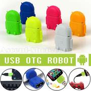 OTG адаптер в виде робота Android