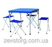 Стол складной + 4 стула