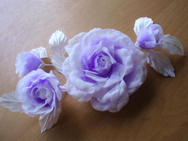 Цветы для платье своими руками фото