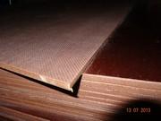Ламинированная транспортная фанера для обшивки пола сетка/гладкая 2500