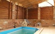 Баня на дровах с соляной комнатой