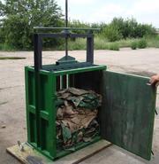 Механический пресс для переработки вторсырья 3 т