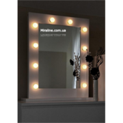 Зеркало для макияжа с подсветкой  Азурит