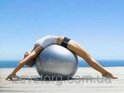 Мяч для фитнеса фитбол гладкий 65 см
