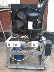 Продам систему технологического хладоснабжения для камеры охлаждения