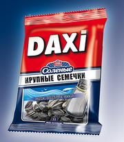 Соленые жареные семечки ТМ Дакси