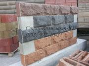 Декоративные блоки Гранит черный