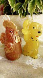 Декоративные свечи Handmade