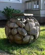 Благоустройство Декор из Металла Дерева Скульптура в Сад Дом Парк Офис
